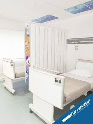 Solutions d'aménagement santé - Nos écrans d'intimité et box médicaux Médicascreen