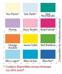 Médicascreen ® - couleurs des galons