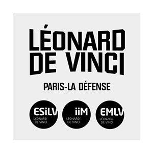 Logo Pôle Universitaire Léonard de Vinci