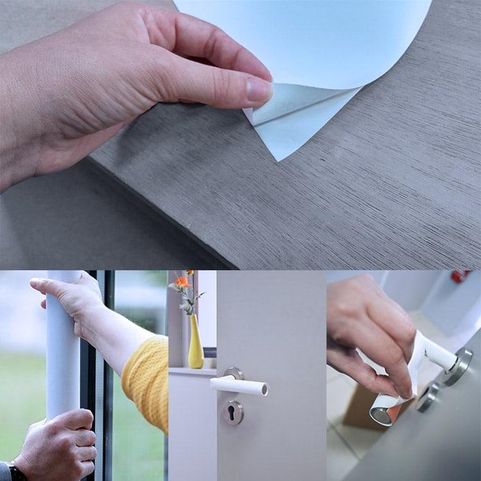Housses de porte en toile membrane virucide Agivir Cover