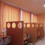 Les rideaux M1 (non feu) AB&W Les paravents hoLes rideaux M1 (non feu) AB&W pour aménager les écoles et toutes collectivités